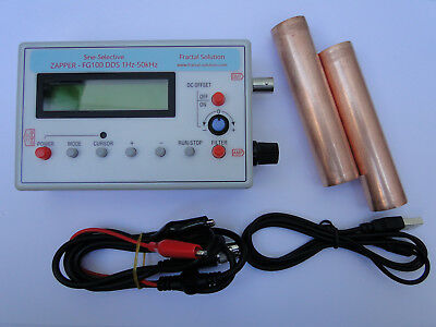 Sine-Selective ZAPPER - FG100 DDS 1Hz–50kHz with Frequency List Database