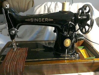 singer electric sewing machine 201k see video on YouTube