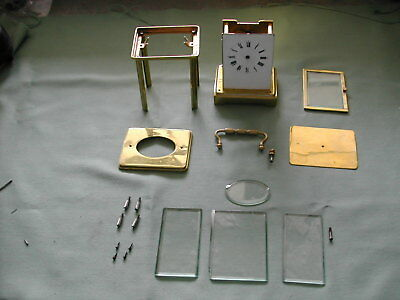Antique carriage clock kit of parts