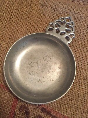VINTAGE RWP ROYAL WILTON COLUMBIA PA 1 Pc PORRINGER SMALL PEWTER 5 3/4""