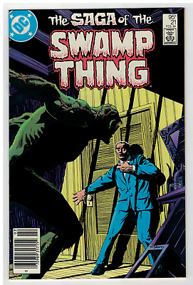 SAGA OF THE SWAMP THING #21  YEATES COVER CANADIAN PRICE VARIANT -Hot / Rare CPV