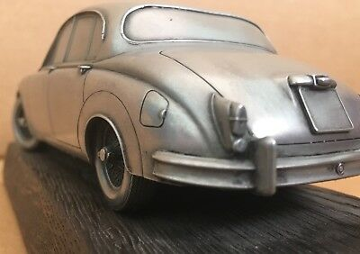 * Handmade Resin Model Car with Intricate Detailing * 1960's Jaguar Mark 2 or 3