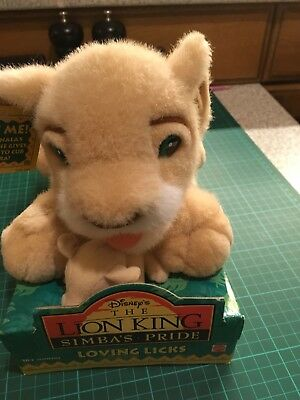 Lion King Loving Licks Nala Soft Toy (1998, Mattel) GC
