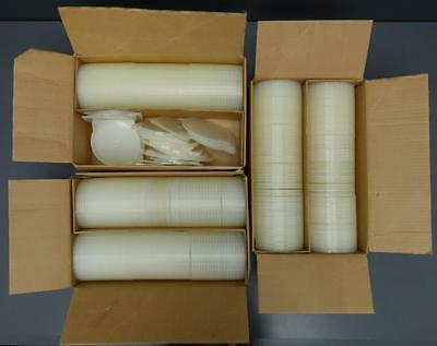 Huge Lot 530 NEW Clear Poly Clam Shell CD DVD Cases 120mm