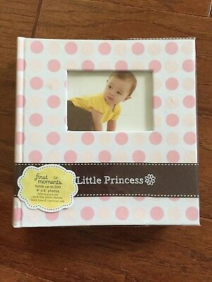 First Moments Baby Girl Photo Album