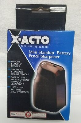 X-Acto Mini Standup Sculptura Series Battery-Operated Pencil Sharpener 16765 NEW