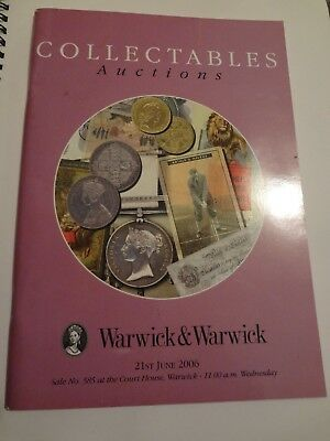 Warwick & Warwick June 2006 Auction Catalog
