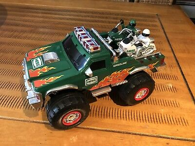2007 Hess Monster Truck with Motorcycles. NO BOX BUT IN GREAT CONDITION!!