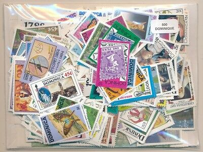 Dominica US 500 stamps different