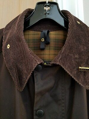 Barbour Waxed Cotton Jacket Mens