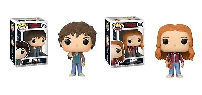Funko Pop TV: Stranger Things Eleven and Max 21784.22569 Set of 2