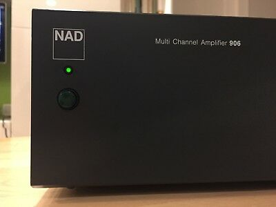 NAD 906 Multi Channel Amplifier ~ Excellent!