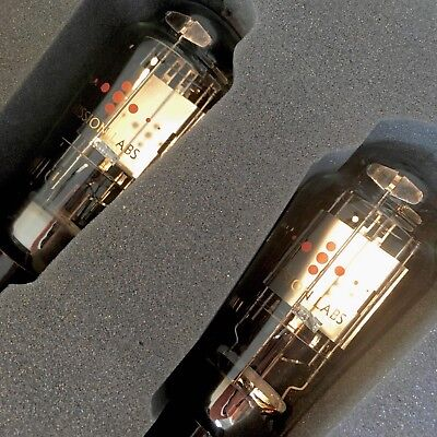 Emission Labs solid plate 45 Boxed Vacuum Audio Tubes Pair 45s