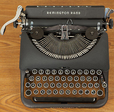 Refurbished 1946 Remington DeLuxe Model 5 Typewriter Excellent Working Condition