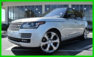 Land Rover Range Rover 5.0L ~~  V8  ~~ Supercharged ~~ 4X4 ~~ LWB ~~ MUST SEE ~~ 2017 5.0L V8 Supercharged Used 5L V8 32V Automatic 4WD SUV Premium Moonroof