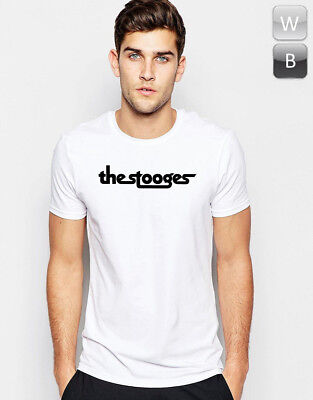 Stooges T-shirt Iggy Rock Music Punk Retro Hipster Band Unisex Gift Graphic Tee