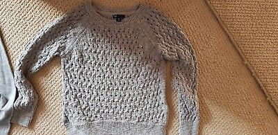 Gap girls cotton knit jumper size 10