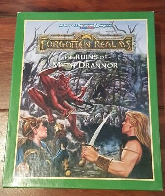 AD&D -The RUINS of MYTH DRANNOR- Advanced Dungeons & Dragons -Adventure Box TSR