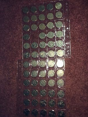 ,full Set,every  Fifty Cent, Renniks , 1966 - 2016 Plus 85  Change Coin, Circ .