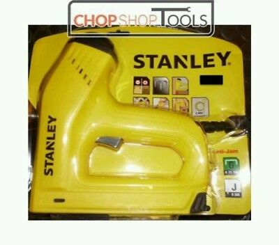 STANLEY Electric Staple Nail Gun Nailer 0-TRE550 & 5000 Assorted Staples