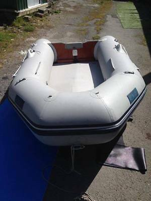 Seago 270 inflatable dinghy boat  and 5hp outboard