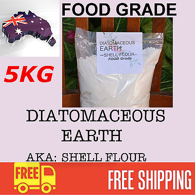 Diatomaceous Earth Premium Quality FOOD GRADE  Fossilised Shell Flour supplement