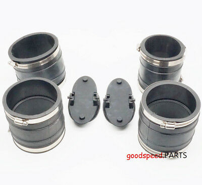 Exhaust Y-pipe Kit 807166A3 Hose Bellows 32-14358T 32-44348T Mercruiser 1982-96