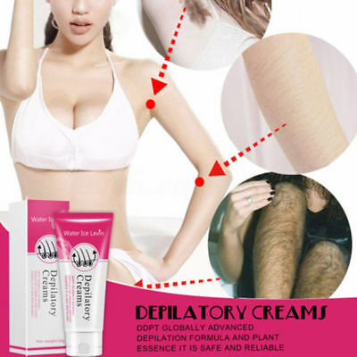 Water Ice Levin Painless Depilatory Hair Removal Cream For Body Leg Armpit Adult