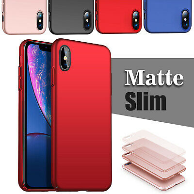 Fit iPhone XS Max XR X 7 8 Plus Ring Magnetic Shockproof Rugged Phone Case Cover