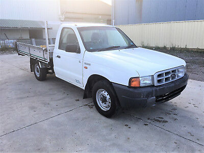 2001 Ford Courier UTE with TAILGATE NO RESERVE