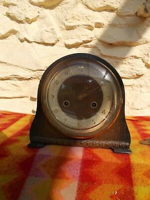 Smiths(Enfield) Mantle clock circa 50's with key.