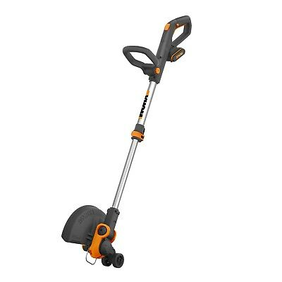 WORX WG163E 18V (20V MAX) Cordless Grass Trimmer/Command Feed & 2 Batteries
