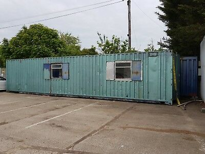 BARGAIN - 40ft Storage Container Office/Workspace Conversion