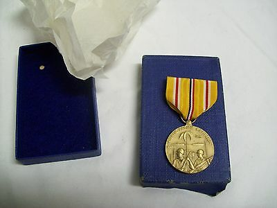 Vintage WWII Asiatic Pacific Campaign Medal US Mint Unused In Original Box