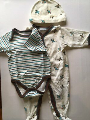 Bundle of baby boy clothes 0-6 months (12 items)