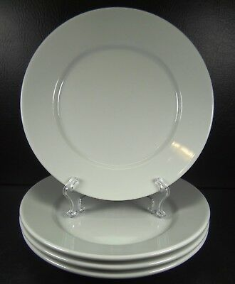 Crate \u0026 Barrel Set of 4 White Dinner Plates Made In Portugal & CRATE \u0026 BARREL Set of 4 White Dinner Plates Made In Portugal ...