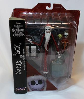 "Disney The Nightmare Before Christmas SANTA JACK Action Figure ""Diamond Select """