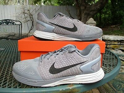 175b5385a24c NIKE LUNARGLIDE 7 Men s Running Shoes 747355-002 Cool Grey Black Pure Plat