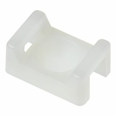 Panduit TM2A-C Tie Mount, User Supplied Adhesive, Natural, use With M, I, S Cabl