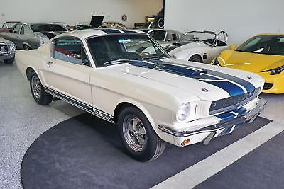 Shelby Mustang GT350 -- 1965 Shelby Mustang GT350  1,885 Miles White   Manual