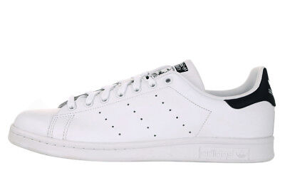 new styles 3e184 de2c5 Adidas Stan Smith Nero Black Bianco White M20323 Scarpe Donna Uomo Shoes