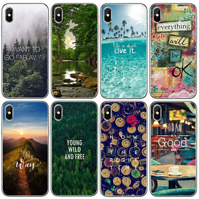 Fashion Pattern Ultra Thin Soft TPU Phone Case Cover For iphone X 7 8 PLUS 6 6S