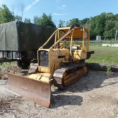 1991 John Deere 450G Dozer With WINCH!! Ex Government Low hours Good shape!