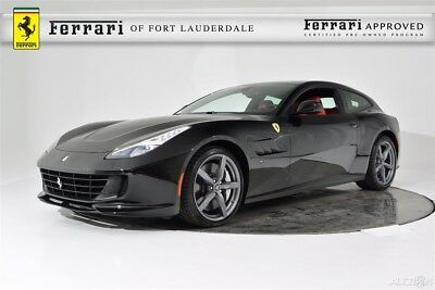 Ferrari GTC4Lusso V12 AWD Certified CPO Apple CarPlay Carbon Fiber LED Panoramic Roof Shields Passenger Display Stitch
