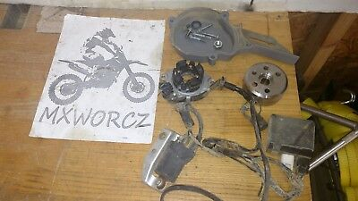 Honda 2005 CR85 Complete Electronics CDI Coil Stator Magneto Wiring #0323