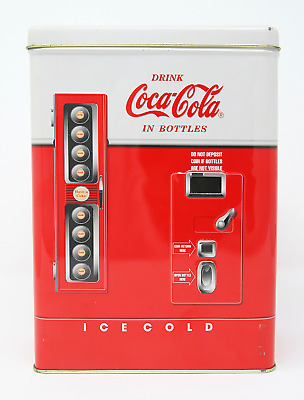 Coca-Cola Vending Machine Tin 1997