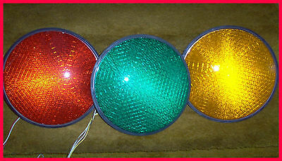 "12"" Led Traffic Light Insert, Tested & Guaranted- Red, Yellow, Green, Or  Arrows"