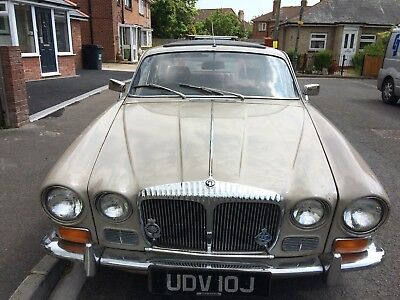 1971 Daimler 4.2 Sovereign Rare Manual Overdrive Moted And On The Road