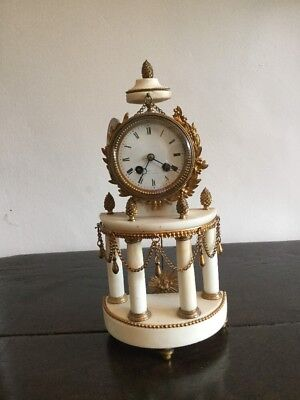 French 8day Mantle Clock