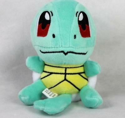 "New 6.5"" SQUIRTLE Pokemon Lovely Stuffed Soft Plush Toys Doll figure Xmas Gift"
